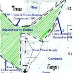thai document map preah vih 150x150 Tensions Rise at Thai Cambodian Border