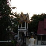 Bell tower at Bangkok Wat