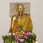 Chedi to revered monk in Bangkok