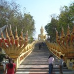 Naga Rails at Pattaya Wat