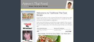 Appon's Thai Food Recipes