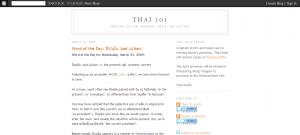 Thai 101