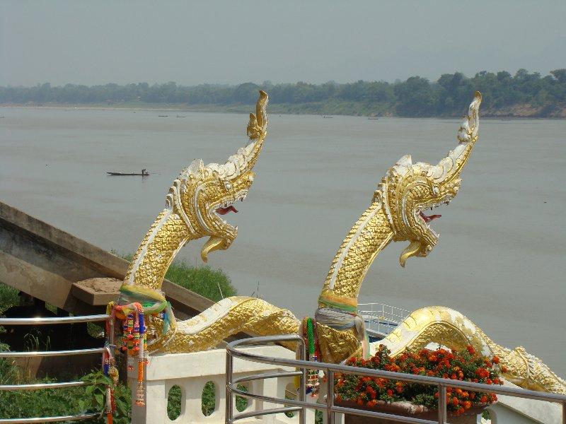 Nakom Phanome River walk stairs