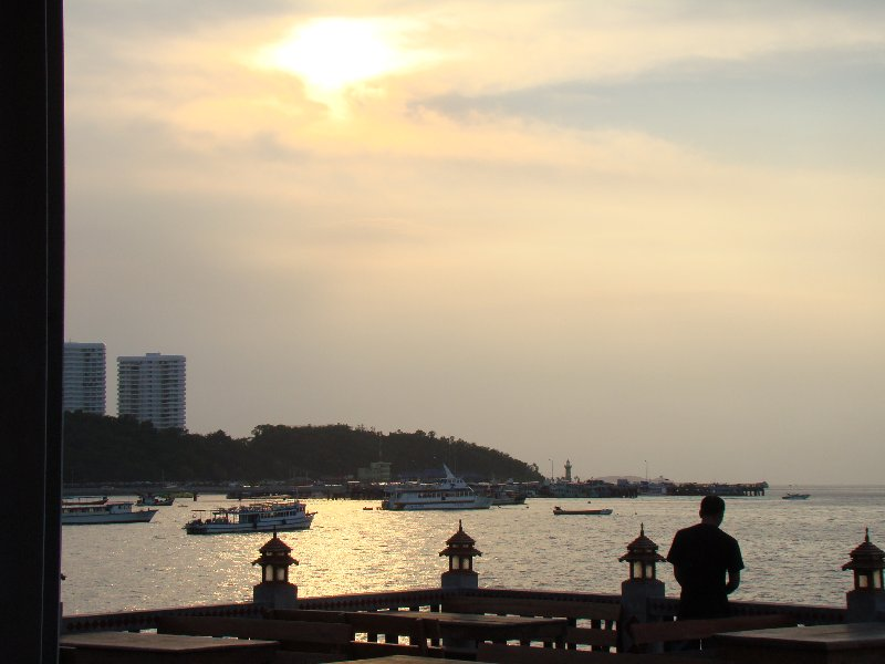 Sunset at Pattaya Beer Garden