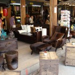 Furniture on sale at Chatuchak Market in Bangkok