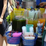 Cool Thai drinks at Chatuchak Market