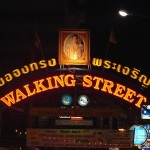 The New Walking Street Sign