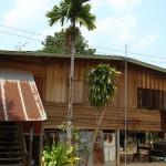 Front of Nakhon Phanom house
