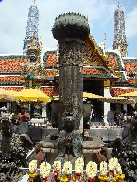 Small shrine at The Grand Palace in Bangkok