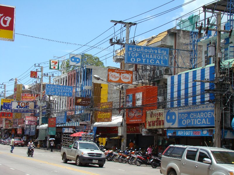 3 Optical stores in a row in Pattaya