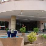 Front entrance kieng Piman Hotel