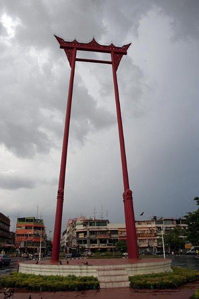 Giant Swing outside Wat Suthat in Bangkok