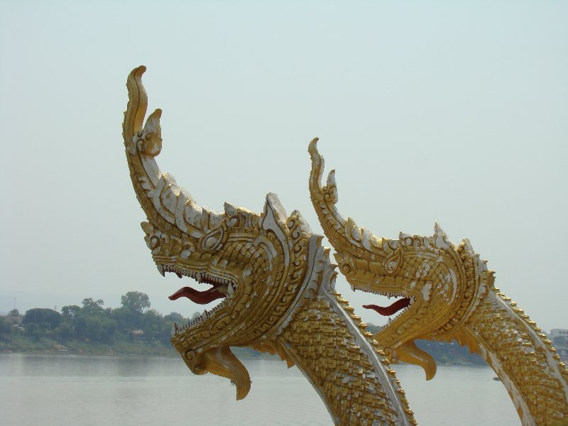 Naga on the Mekong
