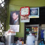 Thaksin picture on the wall