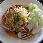 Som Tam (Spicy Green Papaya Salad)