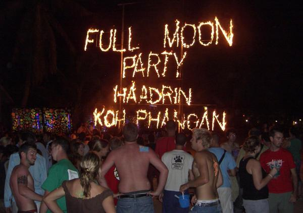 Full Moon Party Koh Phangan Full Moon Party Dates 2010