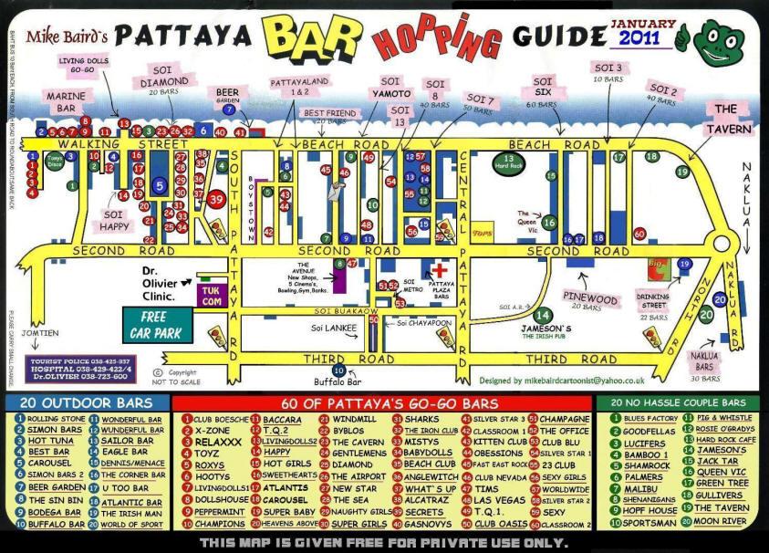 Thailand interactive Maps