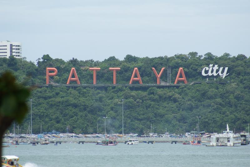 Pattaya City Sign You Havent Seen The Real Thailand
