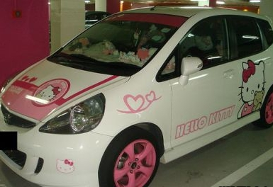 Hello Kitty Honda