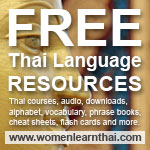 Women Learning Thai Resources