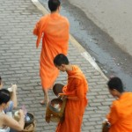 Giving alms to Buddhist Monks 6 150x150 Giving Alms in Vientiane, Laos