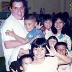 Father Ray and the children