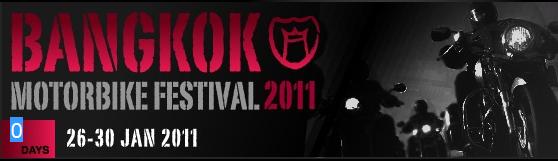 Bangkok Motorbike Festival 2011