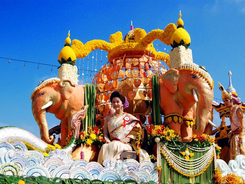 Chiang Mai Flower Festival 2011