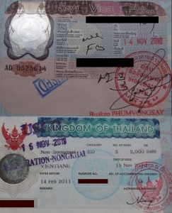 Visa Run: Thailand to Vientiane, Laos