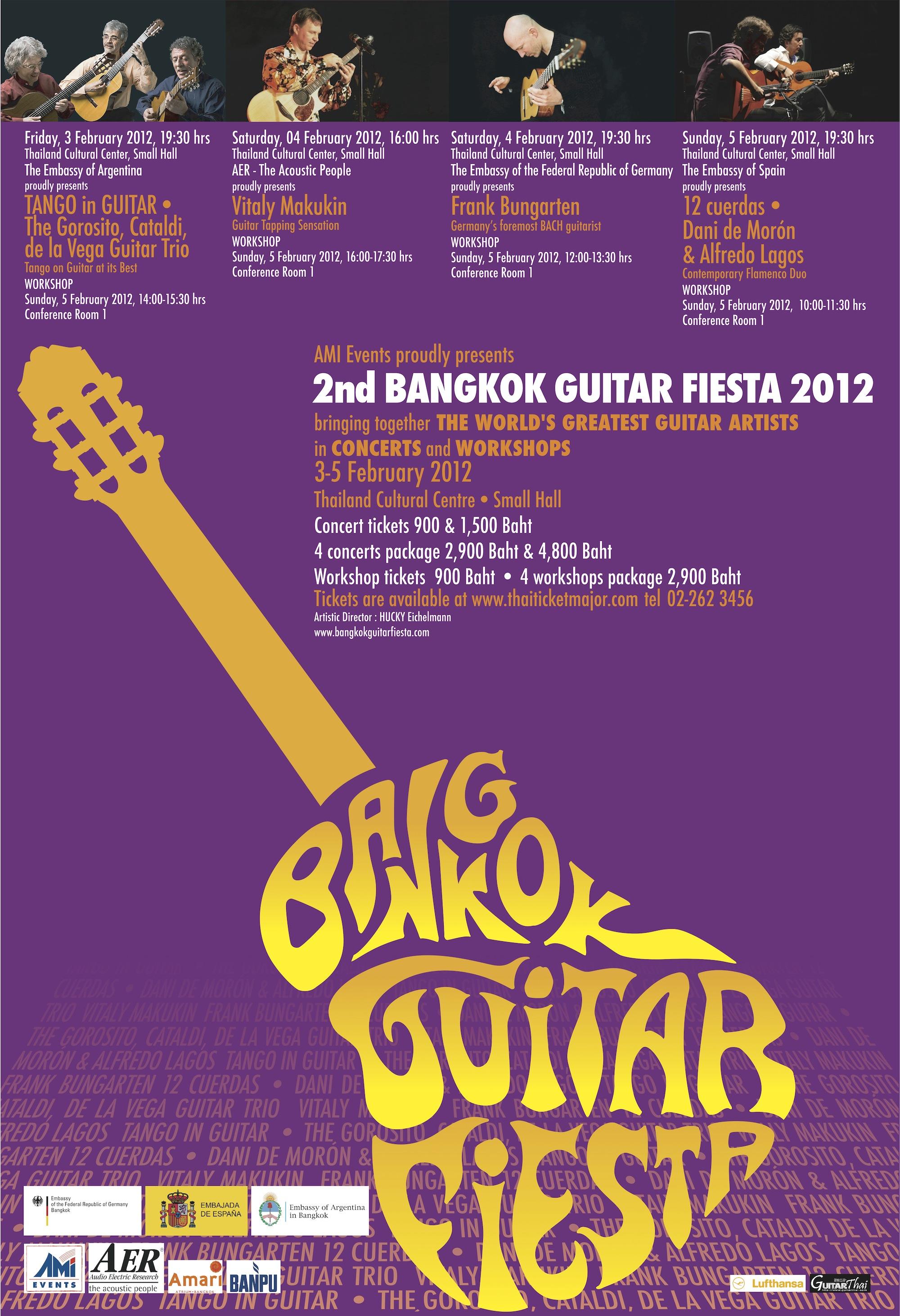 Bangkok Guitar Fiesta 2012