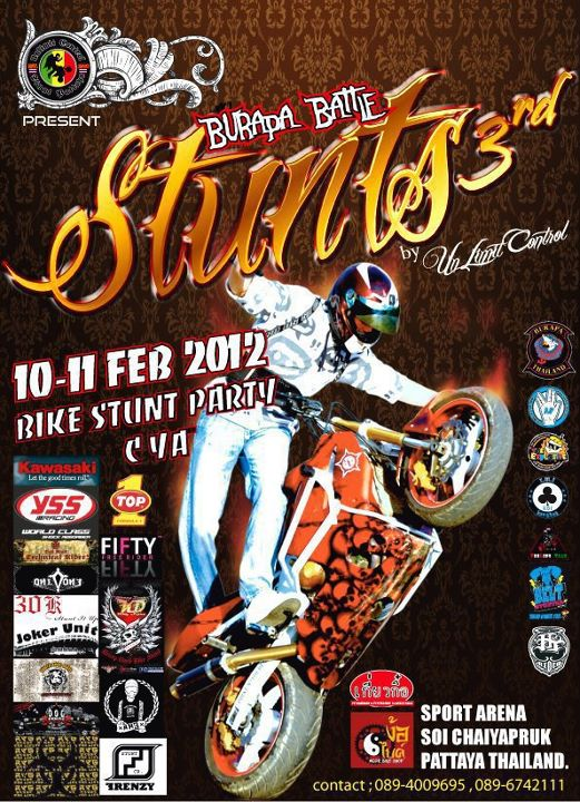 Pattaya Burapa Bike Week 2012