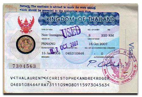 Thailand Visa Information